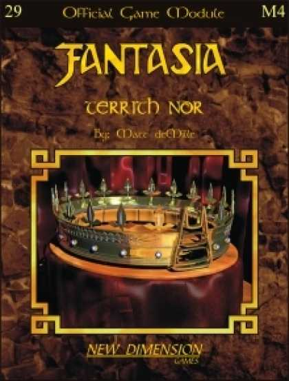 Role Playing Games - Fantasia: Territh Nor--Module M4