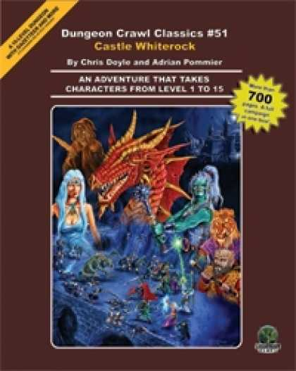 Role Playing Games - Dungeon Crawl Classics #51: Castle Whiterock