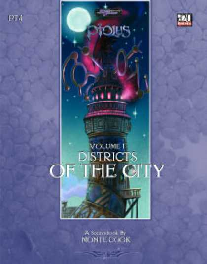 Role Playing Games - Ptolus: Districts of the City, Vol. 1