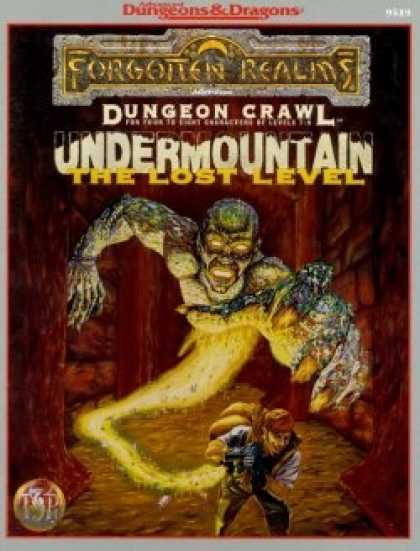 Role Playing Games - Undermountain: The Lost Level