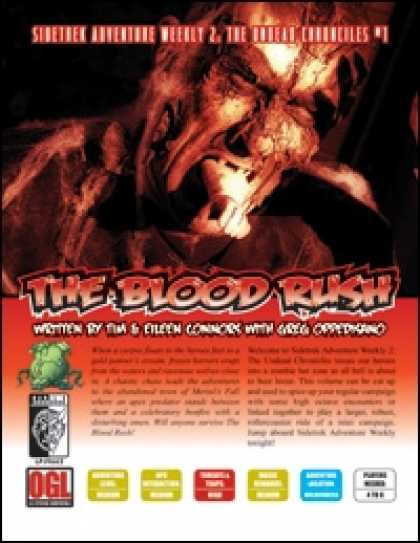 Role Playing Games - Sidetrek Adventure Weekly 2: The Undead Chronicles – #1 The Blood Rush
