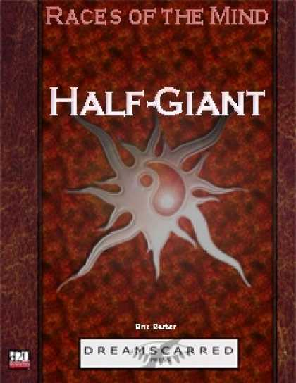 Role Playing Games - Races of the Mind: Half-Giant