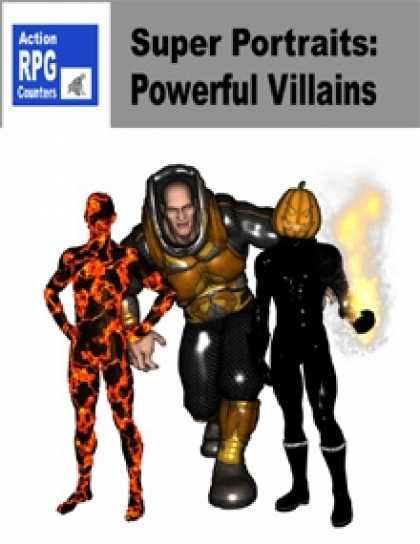 Role Playing Games - Action RPG Counters: Super Portraits: Powerful Villains