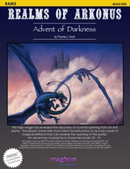 Role Playing Games - Advent of Darkness