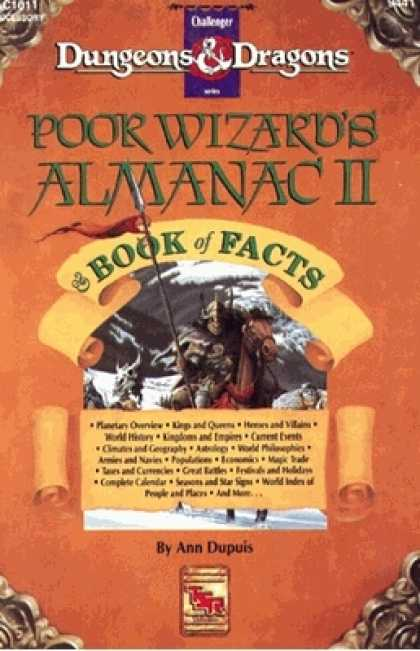 Role Playing Games - Poor Wizard's Almanac II (for the year 1011 AC)