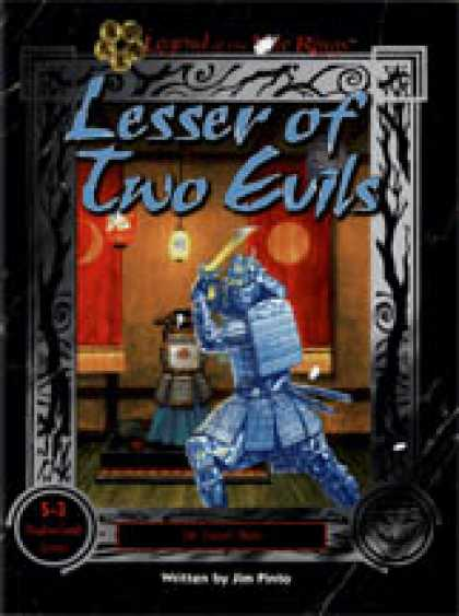 Role Playing Games - Lesser of Two Evils