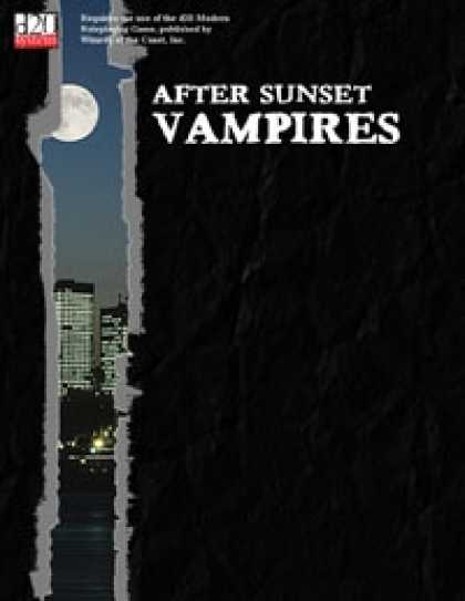 Role Playing Games - After Sunset: Vampires