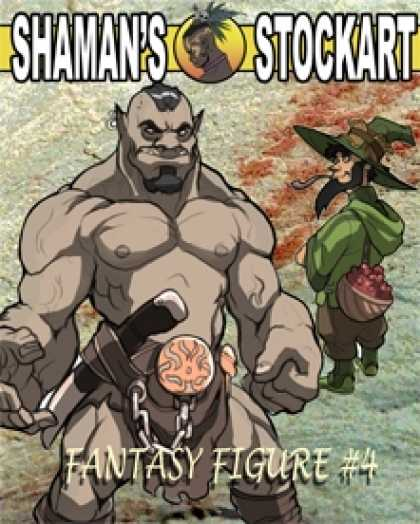 Role Playing Games - Shaman's Stockart Fantasy Figures 4