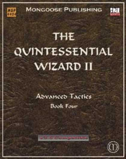Role Playing Games - The Quintessential Wizard II