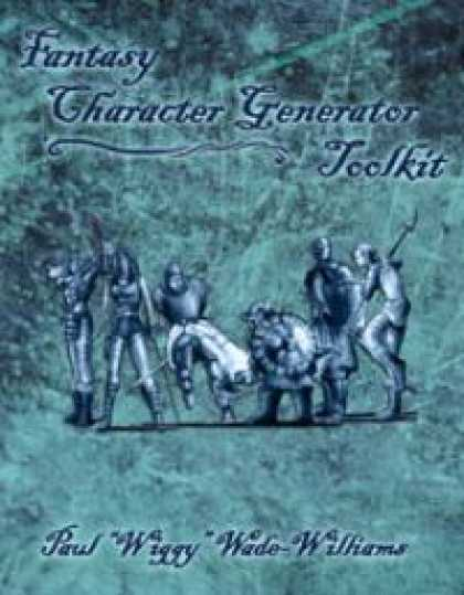 Role Playing Games - Savage Worlds Fantasy Character Generator Toolkit