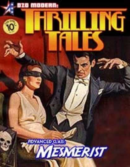Role Playing Games - THRILLING TALES: Advanced Class-MESMERIST