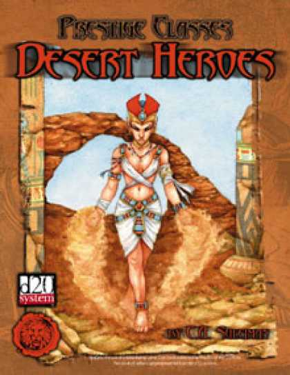 Role Playing Games - Lion's Den Press: Prestige Classes: Desert Heroes