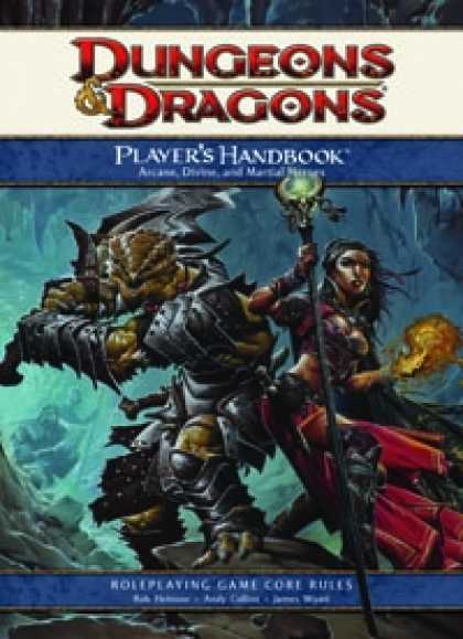 Role Playing Games - 4th Edition Players Handbook