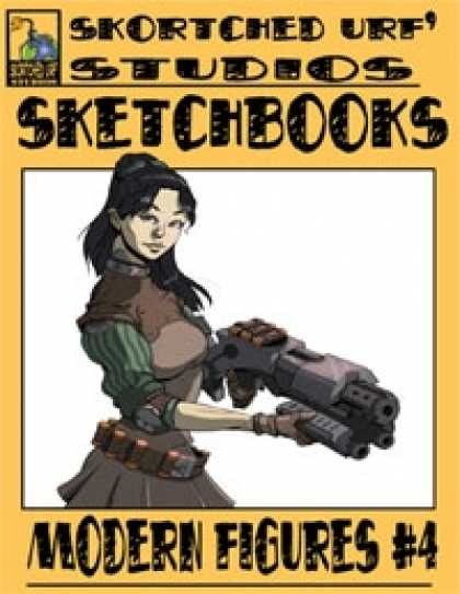 Role Playing Games - Skortched Urf' Studios Sketchbook: Modern figures #4