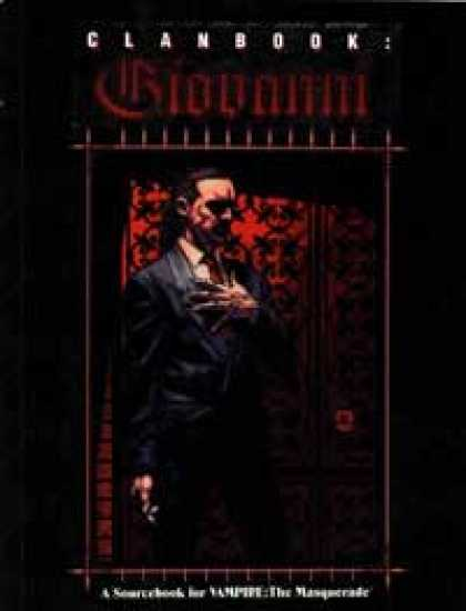 Role Playing Games - Clanbook: Giovanni - 1st Edition