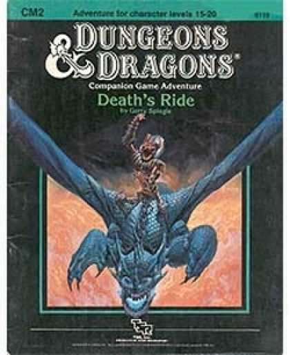 Role Playing Games - CM2 - Death's Ride
