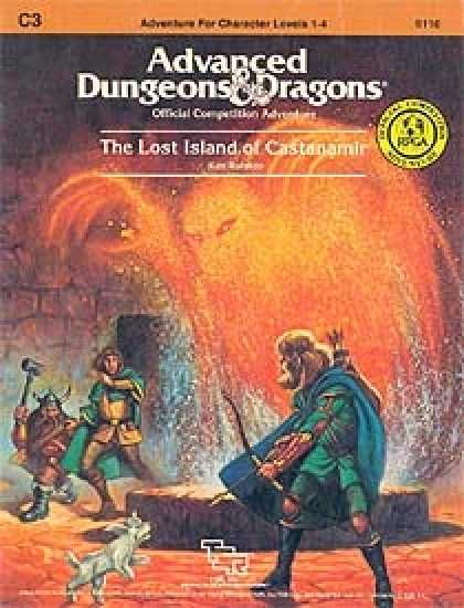 Role Playing Games - C3 - The Lost Island of Castanamir