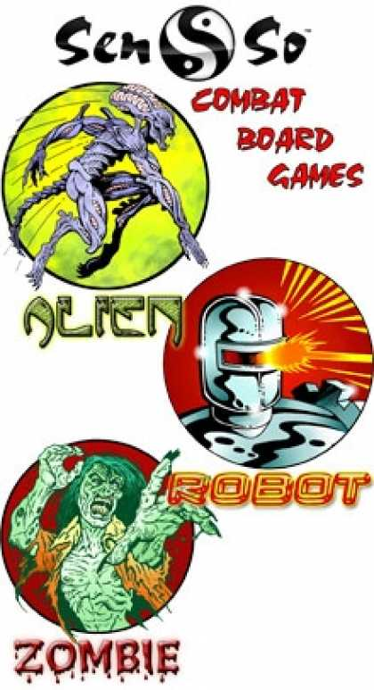 Role Playing Games - Horror & Sci Fi Combat Board Games [BUNDLE]