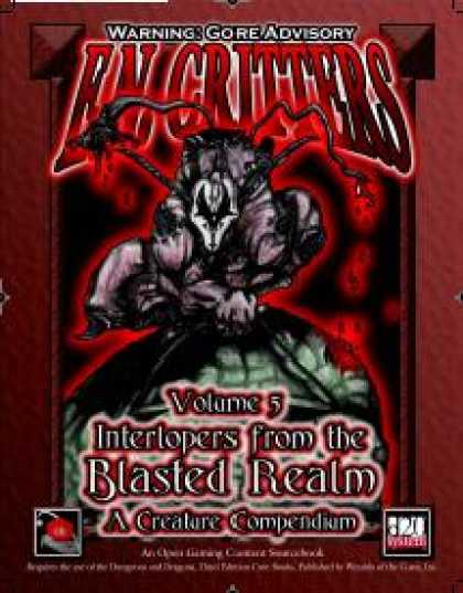 Role Playing Games - E.N. Critters - Interlopers from the Blasted Realm