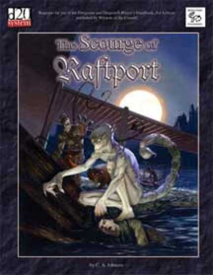 Role Playing Games - MonkeyGod Presents: The Scourge of Raftport