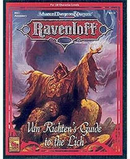 Role Playing Games - Van Richten's Guide to the Lich