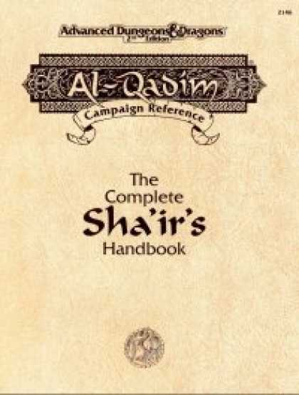 Role Playing Games - The Complete Sha'ir's Handbook