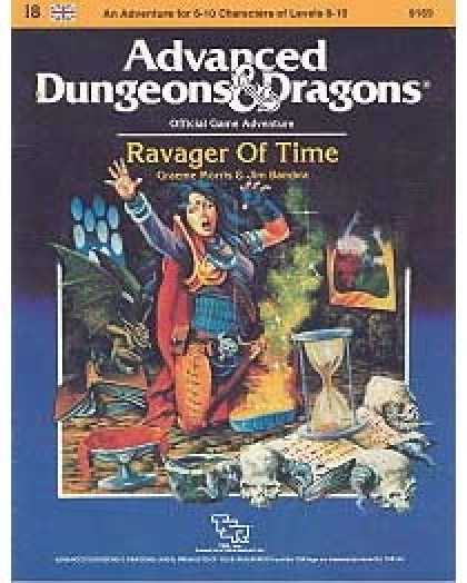 Role Playing Games - I8 - Ravager of Time