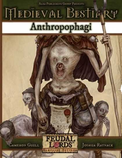 Role Playing Games - Medieval Bestiary: Anthropophagi