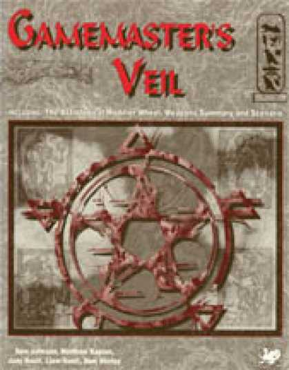 Role Playing Games - Nephilim Gamemaster's Veil