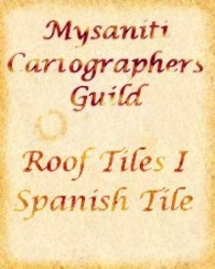 Role Playing Games - Roof Tiles Pack I: Spanish Tile