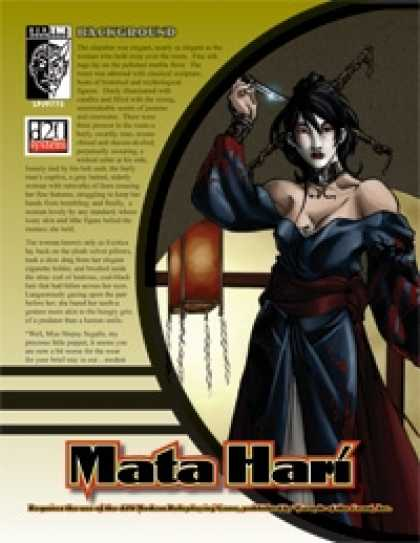 Role Playing Games - Prototype: Mata Hari