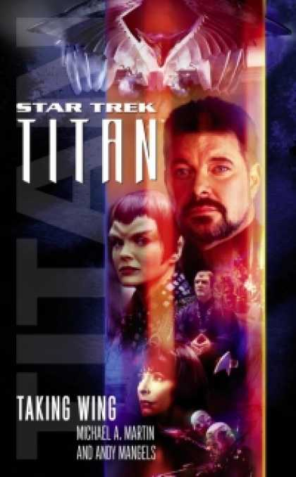 Role Playing Games - Star Trek: The Next Generation: Titan, Book One: Taking Wing