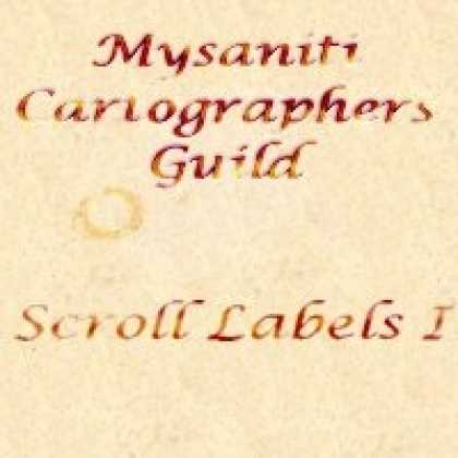 Role Playing Games - Scroll Labels I Symbol Catalog