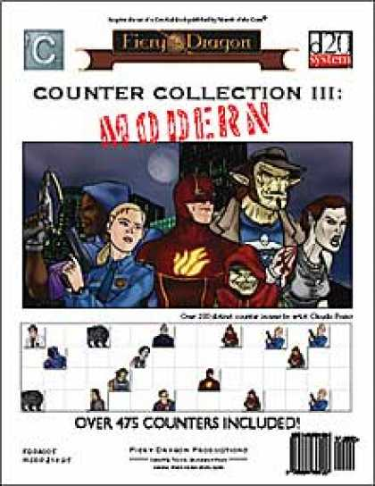 Role Playing Games - Counter Collection III: Modern
