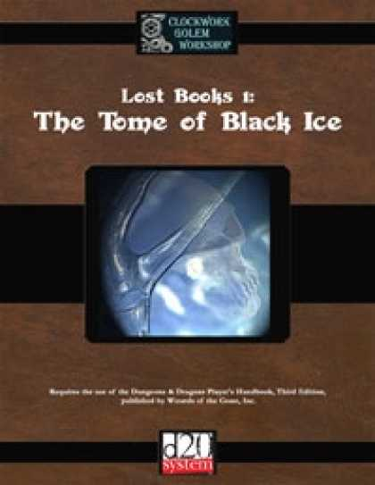 Role Playing Games - Lost Books 1: The Tome of Black Ice