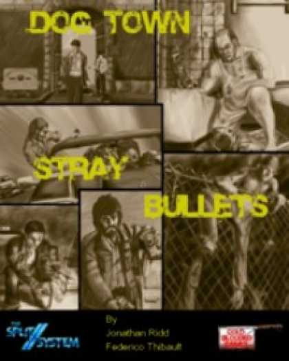 Role Playing Games - Dog Town: Stray Bullets