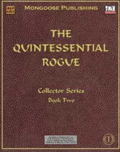 Role Playing Games - The Quintessential Rogue