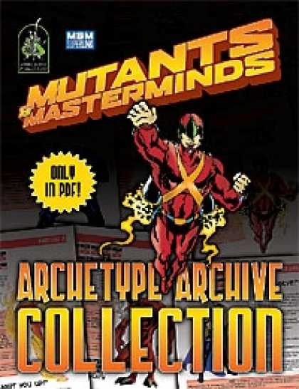 Role Playing Games - Mutants & Masterminds Archetype Archive Collection
