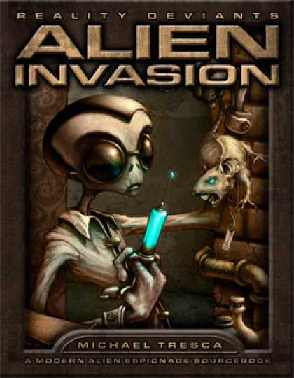 Role Playing Games - RDP: Alien Invasion