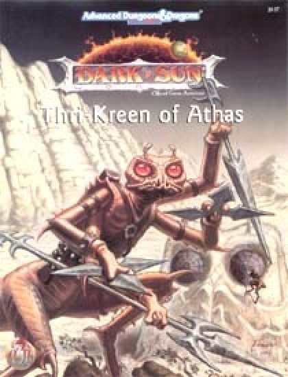 Role Playing Games - Thri-Kreen of Athas
