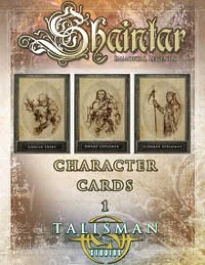 Role Playing Games - Shaintar Character Cards 1