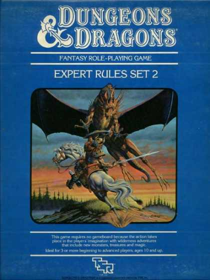 Role Playing Games - Dungeons & Dragons Expert Set (revised)