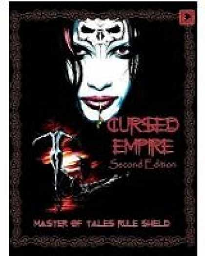Role Playing Games - Cursed Empire 2nd Ed Master of Tales Ruleshield