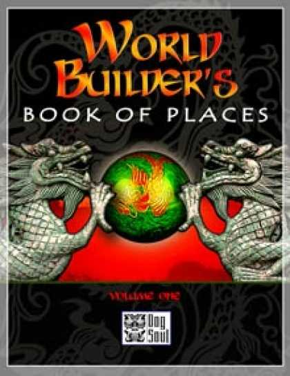 Role Playing Games - World Builder's Book Of Places