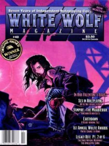 Role Playing Games - White Wolf Magazine #40