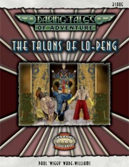 Role Playing Games - Daring Tales of Adventure #04 - The Talons of Lo-Peng