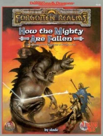Role Playing Games - How the Mighty Are Fallen
