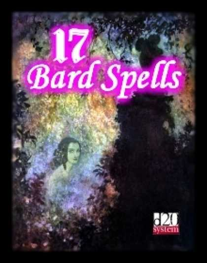 Role Playing Games - 17 Bard Spells