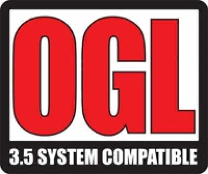 Role Playing Games - OGL 3.5 System Compatible Logo