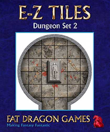 Role Playing Games - E-Z TILES: Dungeon Set 2
